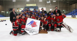 Moncton Flyers Capture NB Major Midget AAA Championship